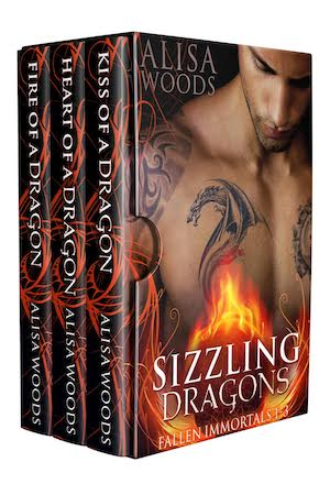 Sizzling Dragons Box Set