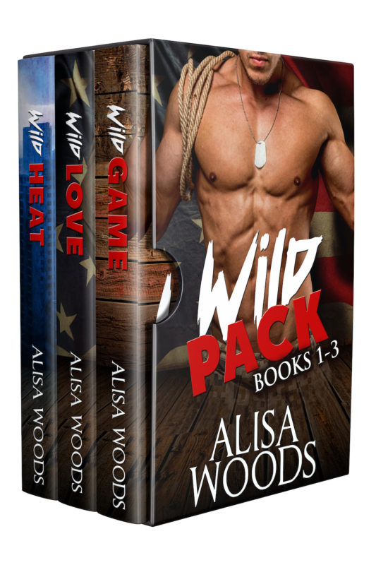 Wild Pack Box Set (Books 1-3: Wilding Pack Wolves)