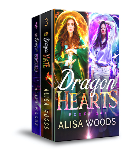 Dragon Hearts Box Set (Books 3-4: Broken Souls Series)